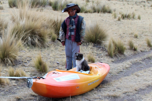 Obligatory cute picture of puppy in kayak