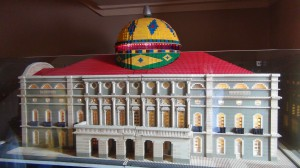 Lego model of the world famous Opera House