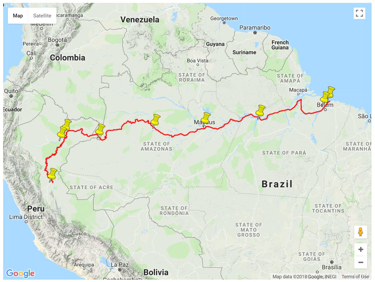The Amazonas